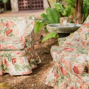 2-Laura-Ashley-Floral-Chairs, Floral Chairs , Floral Chairs for Venue Photography