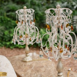 Crystal-Lamps-with-Sofa-Table-Close-up , Best Wedding Venues in Miami, Up Scale Wedding Venue