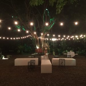 Cafe Lighting Rentals