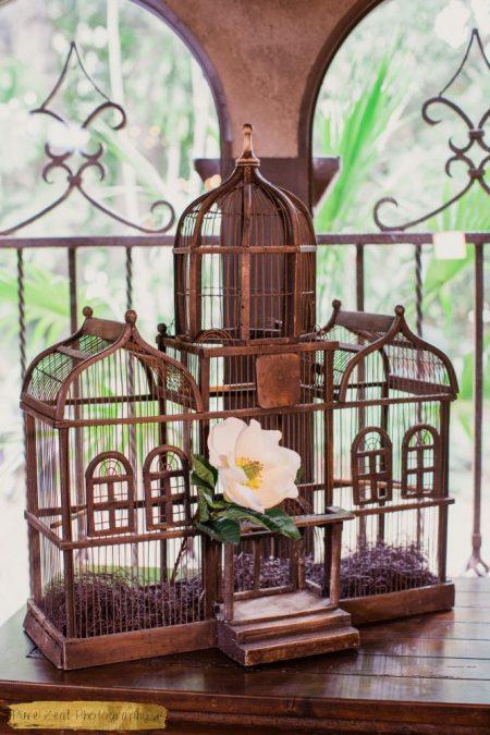 Antique Bird Cage, Antique Venue Decorations
